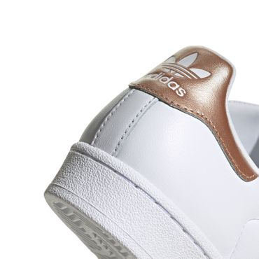 adidas Originals Superstar W Damen Sneaker weiß bronze EE7399 – Bild 4