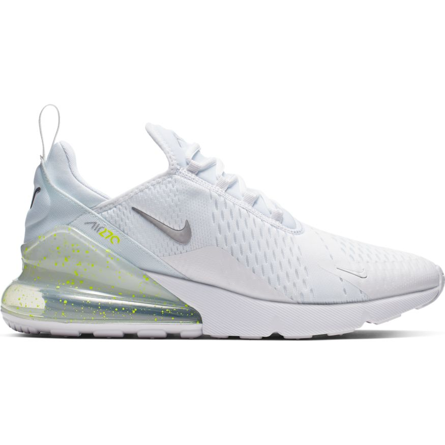 Nike Air Max 270 Herren Sneaker weiß neongelb CI2671 100