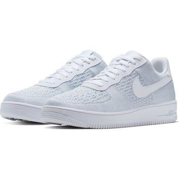 Nike Air Force 1 Flyknit 2.0 Herren Sneaker weiß AV3042 100 – Bild 3