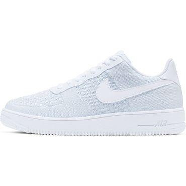 Nike Air Force 1 Flyknit 2.0 Herren Sneaker weiß AV3042 100 – Bild 2