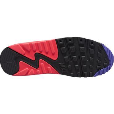Nike Air Max 90 Essential Herren Sneaker weiß schwarz pink lila AJ1285 106 – Bild 6