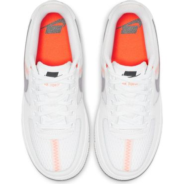 Nike Air Force 1 LV8 1 (GS) Sneaker weiß orange  AV0743 100 – Bild 5