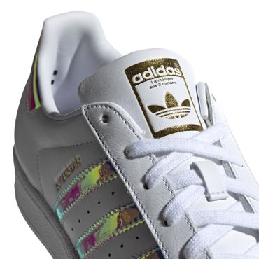 adidas Originals Superstar W Damen Sneaker weiß metallic EG2919 – Bild 4