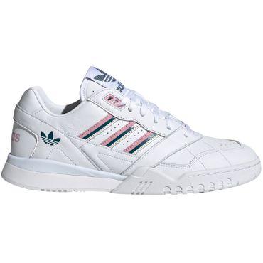 adidas Originals A.R. Trainer W Damen Retro Sneaker weiß rosa türkis EE5408 – Bild 1