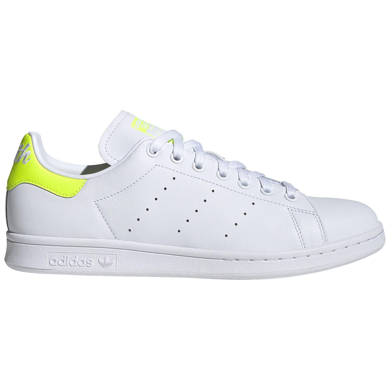 adidas Originals Stan Smith W Damen Sneaker weiß gelb EE5820