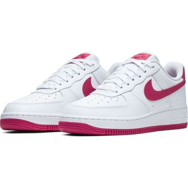 Nike Air Force 1 ´07 Damen Sneaker weiß rot AH0287 107 – Bild 3