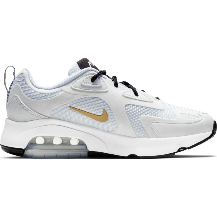 uk cheap sale genuine shoes footwear Nike Air Max 200 W Damen Sneaker weiß gold AT6175 102