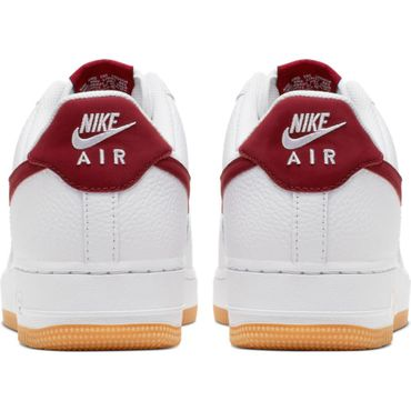 Nike Air Force 1 '07 2 Sneaker weiß rot CI0057 101 – Bild 4