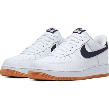 Nike Air Force 1 '07 2 Sneaker weiß blau CI0057 100 – Bild 3