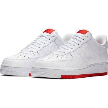 Nike Air Force 1 '07 2 Sneaker weiß rot AO2409 101 – Bild 3