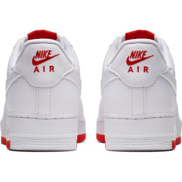 Nike Air Force 1 '07 2 Sneaker weiß rot AO2409 101 – Bild 5