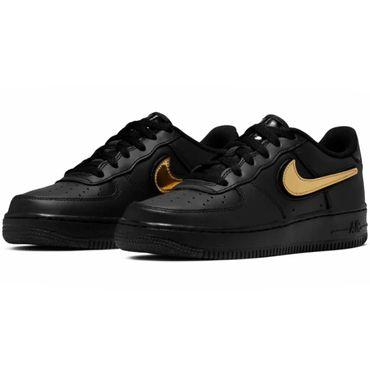 Nike Air Force 1 LV8 3 GS Sneaker schwarz metallic AR7446 001 – Bild 3