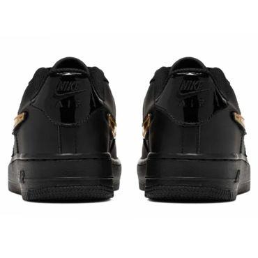 Nike Air Force 1 LV8 3 GS Sneaker schwarz metallic AR7446 001 – Bild 5