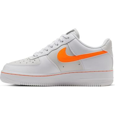 Nike Air Force 1 Low Damen Sneaker weiß orange CJ9699 100 – Bild 2