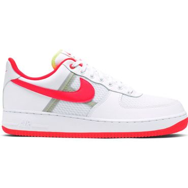 Nike Air Force 1 '07 LV8 1 Sneaker weiß rot CI0060 102 – Bild 1