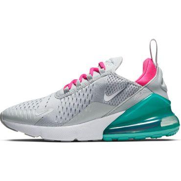 Nike W Air Max 270 Damen Sneaker grau pink türkis AH6789 065 – Bild 2