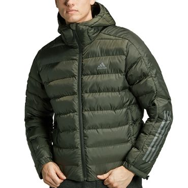 adidas Itavic 3- Stripes 2.0 J Jacke Herren dark green DZ1410 – Bild 2
