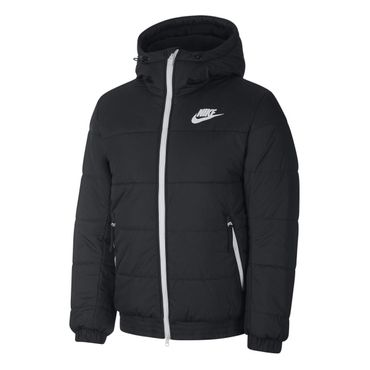 Nike Sportswear Synthetic Fill Herren Jacke schwarz weiß BV4683 010 – Bild 1