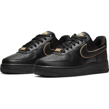 Nike Air Force 1 ´07 Essential Damen Sneaker schwarz gold AO2132 005 – Bild 3