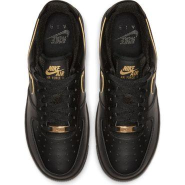Nike Air Force 1 ´07 Essential Damen Sneaker schwarz gold AO2132 005 – Bild 4