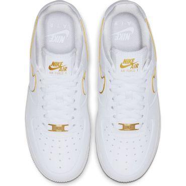 Nike Air Force 1 ´07 Essential Damen Sneaker weiß gold AO2132 102 – Bild 4