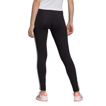 adidas Originals 3 Stripes Tight Damen Leggings schwarz weiß FM3287 – Bild 2