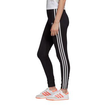 adidas Originals 3 Stripes Tight Damen Leggings schwarz weiß FM3287 – Bild 3