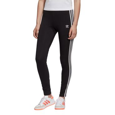 adidas Originals 3 Stripes Tight Damen Leggings schwarz weiß FM3287 – Bild 1