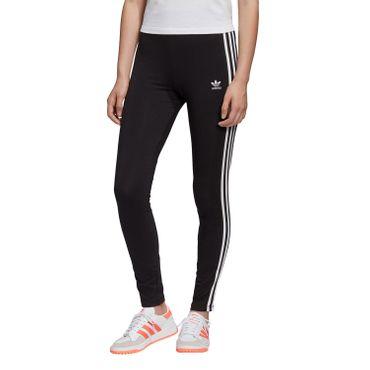 adidas Originals 3 Stripes Tight Damen Leggings schwarz weiß FM3287 – Bild 1