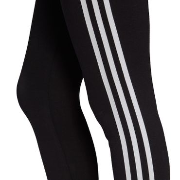 adidas Originals 3 Stripes Tight Damen Leggings schwarz weiß FM3287 – Bild 4