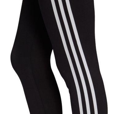 adidas Originals 3 Stripes Tight Damen Leggings schwarz weiß FM3287 – Bild 4