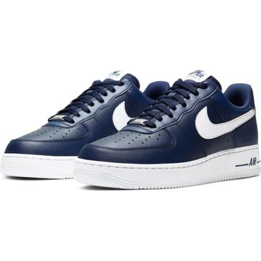 Nike Air Force 1 '07 Sneaker blau weiß CJ0952 400 – Bild 3