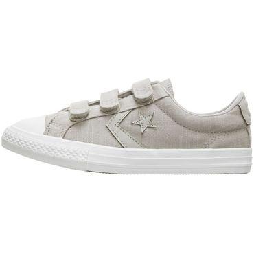 Converse Star Player EV 3V OX Kinder Sneaker beige 664435C – Bild 2