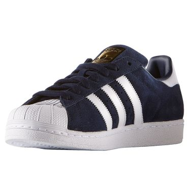 adidas Superstar Suede Retro Sneaker navy blau – Bild 4