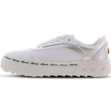 Ellesse Alzina LTHR AF Damen Sneaker weiß 6-10435 – Bild 2