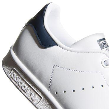 adidas Originals Stan Smith Damen Sneaker weiß blau S81020  – Bild 3