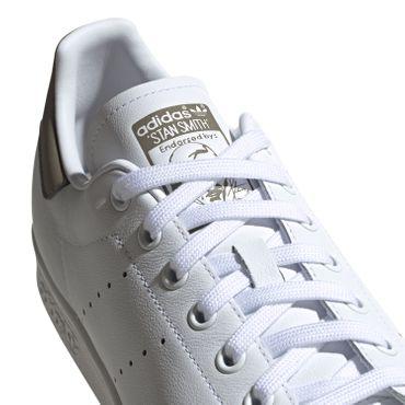 adidas Originals Stan Smith Sneaker Klassiker weiß grau EE5798 – Bild 3