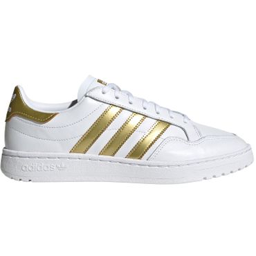 adidas Originals Team Court W white gold EF6058