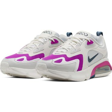 Nike Air Max 200 W Damen Sneaker weiß lila CI3867 001 – Bild 3