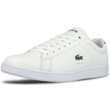 Lacoste Carnaby Evo BL 1 SPM Sneaker weiß schwarz 7-33SPM1002001 – Bild 3