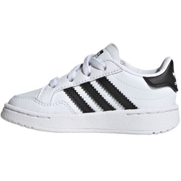 adidas Originals Team Court EL I white black EG9093 – Bild 2