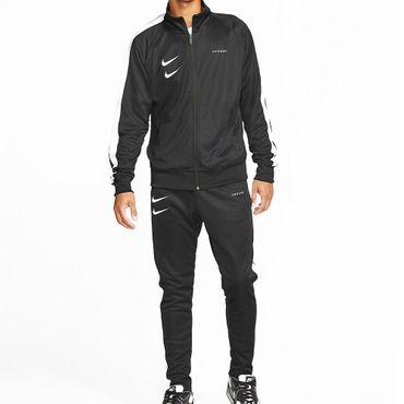 Nike Sportswear Swoosh Herren Hose schwarz weiß CJ4873 010 – Bild 4