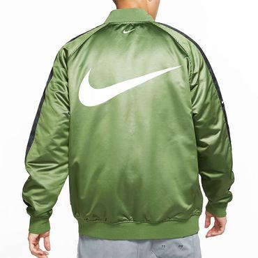 Nike Sportswear Swoosh Web-Bomberjacke Herren treeline black CJ4875 326 – Bild 3