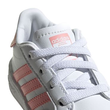 adidas Originals Team Court EL I white glory pink EF6829 – Bild 4