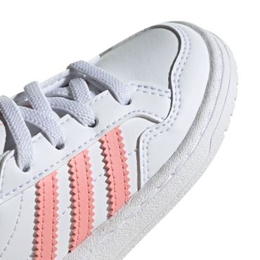 adidas Originals Team Court EL I white glory pink EF6829 – Bild 3