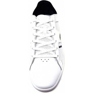 Lacoste Novas 119 1 SMA Sneaker weiß blau 7-37SMA0037042 – Bild 4