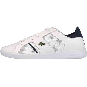 Lacoste Novas 119 1 SMA Sneaker weiß blau 7-37SMA0037042 – Bild 2