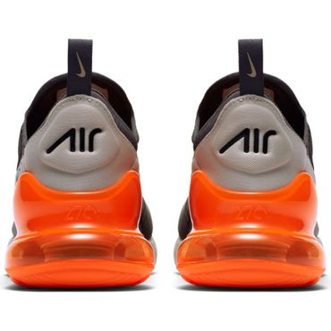 Nike Air Max 270 Herren Sneaker grau orange AH8050 024 – Bild 5