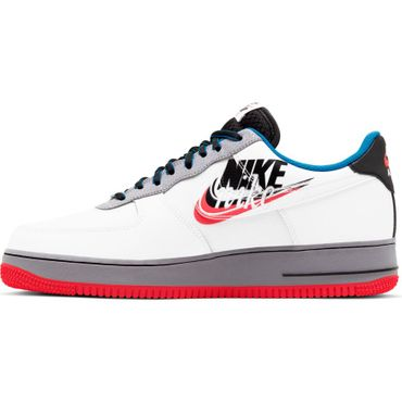 Nike Air Force 1 '07 LV8 Script Swoosh Sneaker weiß CT1620 100 – Bild 2