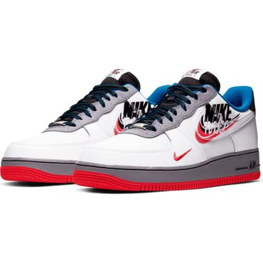 Nike Air Force 1 '07 LV8 Script Swoosh Sneaker weiß CT1620 100 – Bild 3